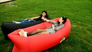 Inflatable Sofa Bed Mattress by Outdoor Portable Sofa Bed Inflatable Mattress Bed Youtube