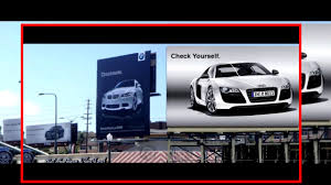 audi commercial bmw vs audi commercial war youtube