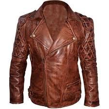 buy biker jacket buy brown distressed vintage leather jacket