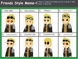 Sm Meme - mc sm friends style meme read description by tirainarex on