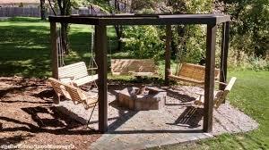 Swing Fire Pit by Best Ana White Fire Pit Swings Diy Projects Porch Swing Fire Pit