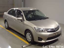 2013 toyota corolla axio mellow silver metallic for sale stock