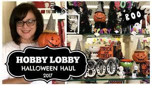 hobby lobby halloween haul 2017 shop with me youtube