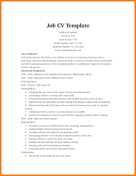 Resume For 1st Job by How To Write A Cv For Your First Job