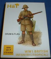British Flag Ww1 Hat 8293 Ww1 British Infantry Tropical Uniform 1 72 Scale