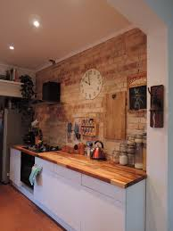 Kent Kitchen Cabinets Large Thomas Kent Clock On Exposed Brick Wall Classic French