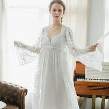 peignoir sets bridal cfyh new arrivals autumn winter nightgown robes set bathrobe