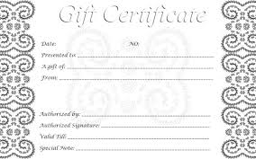 gift certificate template download free u0026 premium templates