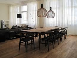 Oversized Dining Room Tables Reclaimed Live Edge Oak Table Dining Room Contemporary With