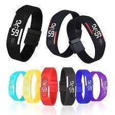 digital bracelet led watches images Vico watch men women child wristwatch rubber led watch sports jpg