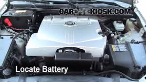 2007 cadillac cts 3 6 battery replacement 2003 2007 cadillac cts 2006 cadillac cts