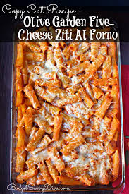 Cat Recipe Olive Garden Five Cheese Ziti Al Forno - cat recipe olive garden five cheese ziti al forno