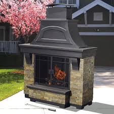 Outdoor Fire Places by Sunjoy D Of134pst B Lennon Fireplace Lowe U0027s Canada For The