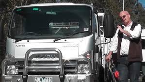isuzu npr200 tradepack truck video review