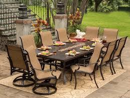 Mainstays Wicker 5 Piece Patio Dining Set Seats 4 - patio 22 patio dining set with umbrella