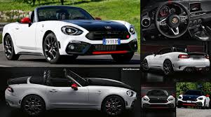 fiat roadster fiat 124 spider abarth 2017 pictures information u0026 specs