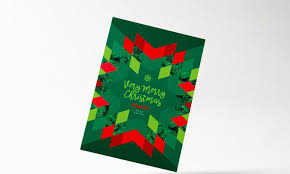 modern christmas cards 34 christmas card templates designs for 2017 envato