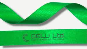 name ribbon satin ribbon delu ltd finest paper and fabric packaging designs