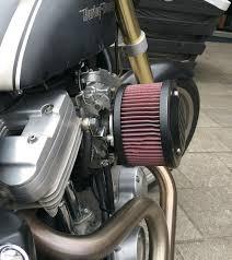 big k u0026n filter custom harley davidson sportster with buell engine