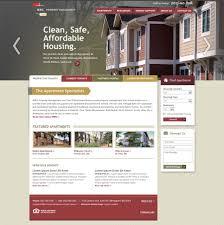premier property management website design