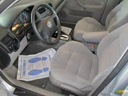 Volkswagen Jetta 2002 Interior Grey Interior 2002 Volkswagen Jetta Gls Sedan Photo 49290236