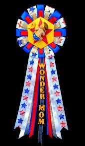 wonder mom baby shower corsage mommy to be wonderwoman pin