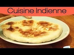 cuisine indienne naan cuisiner indien naan au fromage maison
