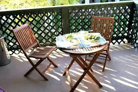 outdoor furniture balcony sets small apartment outside and small