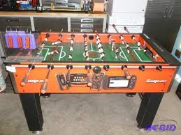 foosball tables for sale near me snap on foosball table in very good condition sns auctions