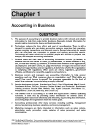 principles of financial accounting chapter 1 answers expense