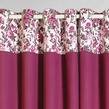 buy mulberry flavor printed cotton curtains online for living room