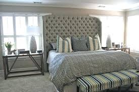 extra high king bed frame full size of high king bed inch premium