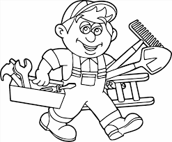 Toolbox Coloring Page Web Coloring Pages Tools Coloring Page
