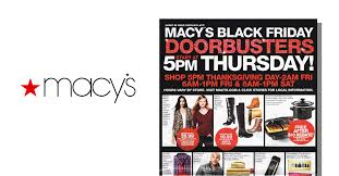 macy s black friday 2016 ad posted retailer announce 5 day cyber
