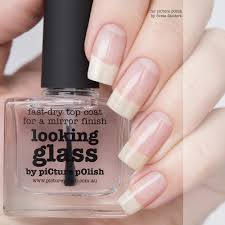 nail polish looking glass