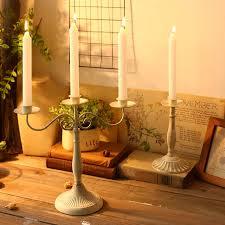 metal ornaments home decor european creative candle stick ornaments christmas vintage home
