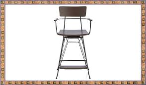 Metal Swivel Bar Stool Swivel Bar Stools With Backs And Arms Home Decorations Ideas