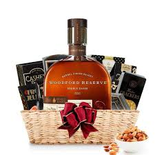 bourbon gift basket buy woodford reserve oaked bourbon gift basket online