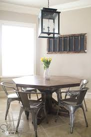 How To Build A Dining Room Table Plans by Diy Dining Table Free Plans Shanty 2 Chic