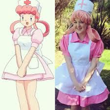 nurse joy comparison cosplay amino