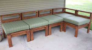 Free Plans For Outdoor Sofa by The Awesome Of Diy Outdoor Sectional Ideas
