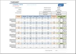 free timesheet template for excel 2007 2016