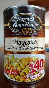 cuisiner les flageolets flageolets cuisinés à l auvergnat raynal et roquelaure 410g
