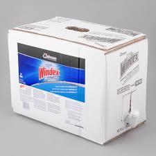 sc johnson windex 696502 5 gallon bag in box rtu powerized glass