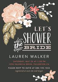 wedding shower invitations pressed flowers bridal shower invitations by alethea and ruth minted