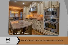 vintage metal kitchen cabinets how to restore or upgrade your metal kitchen cabinets at