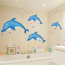 Ocean Wall Decals For Nursery by Amazon Com 1 X Undersea Big Shark Baby U0027s Bedroom Wall Decal Ocean