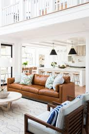 Large Brown Leather Sofa Living Room Living Room Brown Leather Sofa Best Decorating