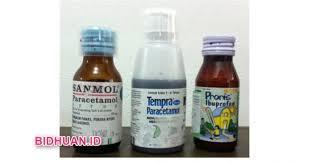 Obat Grafadon proris syrup sanmol dan tempra untuk obat penurun panas mana yang