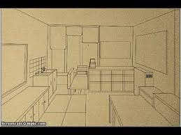 how to draw a perspective room youtube